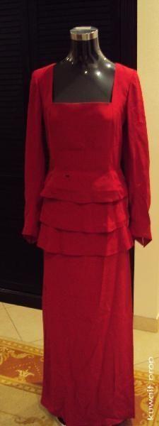 Shosanna Dreyfus Red Dress