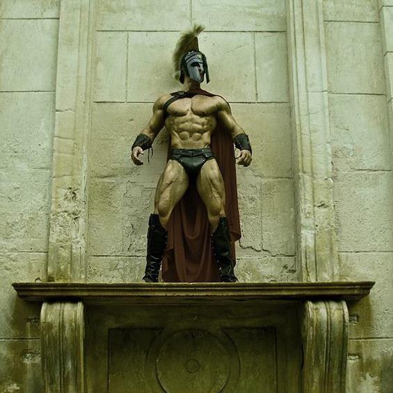 Bodyspace Junction: Jeff Seid: The Spartan by Luis Rafael