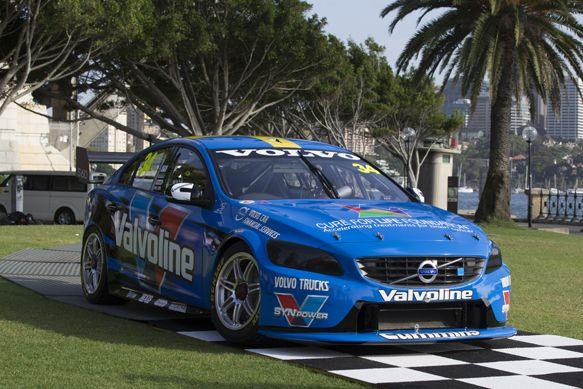 V8 Supercar News Volvo Unveils Its V8 Supercars S60 Volvo Super Cars V8 Supercars