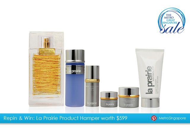 Repin this picture & win La Prairie Product Hamper from #Metro! #MGSSPIN Happy pinning!  https://www.facebook.com/notes/metro-singapore/metro-repin-win-contest-tcs/10150863479082844