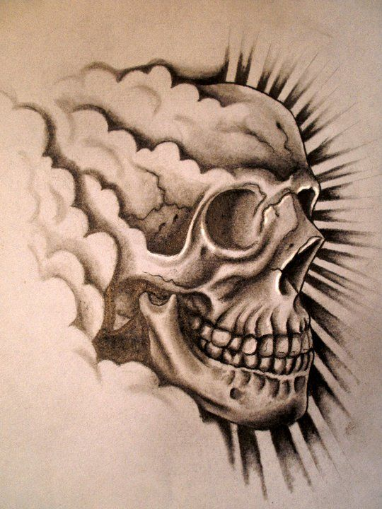 Put This In Color Need A Real Bottle To Check The Light Skull Tattoo Design Skull Tattoo Tattoo Designs