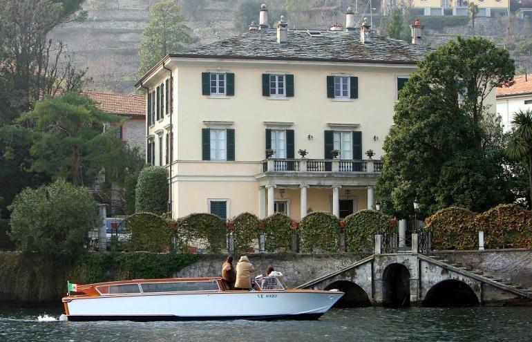 George Clooney S Home Villa Oleandra On Lake Como Laglio Lake Como Lago Italy Lakecomoapp Villa Laglio Villaoleandra Lake Como Lake Como Italy Italy