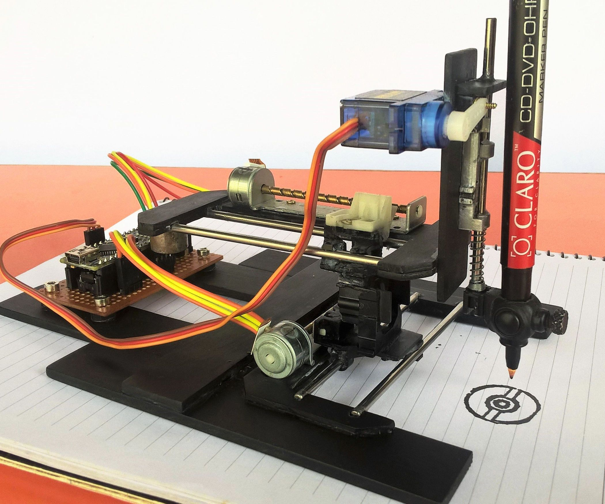 Diy Arduino Cnc Drawing Machine Pinterest Remote Control Drone Pcb Pcba Circuit Board For Rc Dronerc Hello Guys In This Instructable Im Going To Show You How Make An Plotter From Old Dvd Writers Is Amazing