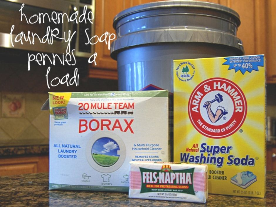 How To Make Homemade Laundry Soap Liquid Or Powder Fabulessly