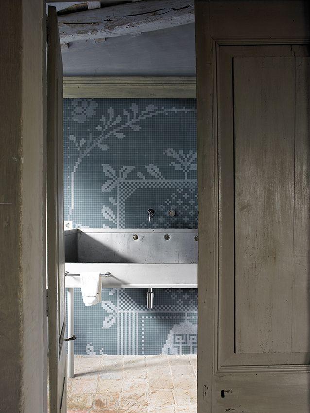 Christian Benini Unfolds The Secrets Of Wall Decò: Pixie #wallpaper #wallcovering #wetsystem