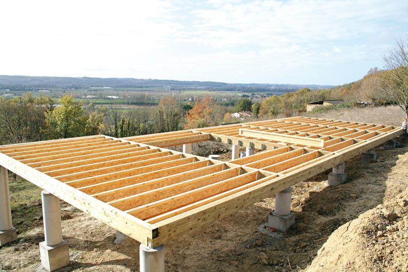 DalleBoisPourIsolationPaille  Construction    Dalle
