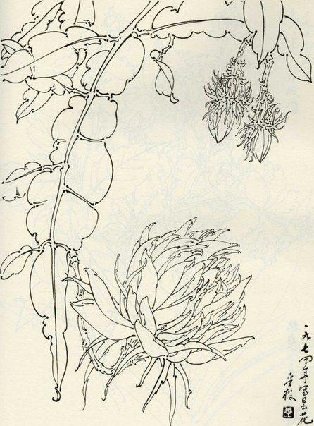 Стиль Гунби, китайская живопись Гохуа | Китайская живопись