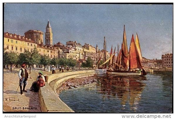Ansichtskarten Europa Kroatien Split Delcampe De