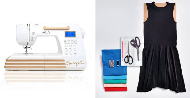 Color Blocking with the Spiegel 60609 Sewing Machine!