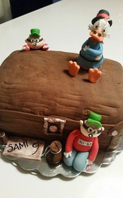 Homemade by MI: Samin Roope Ankka & Karhukopla -kakku