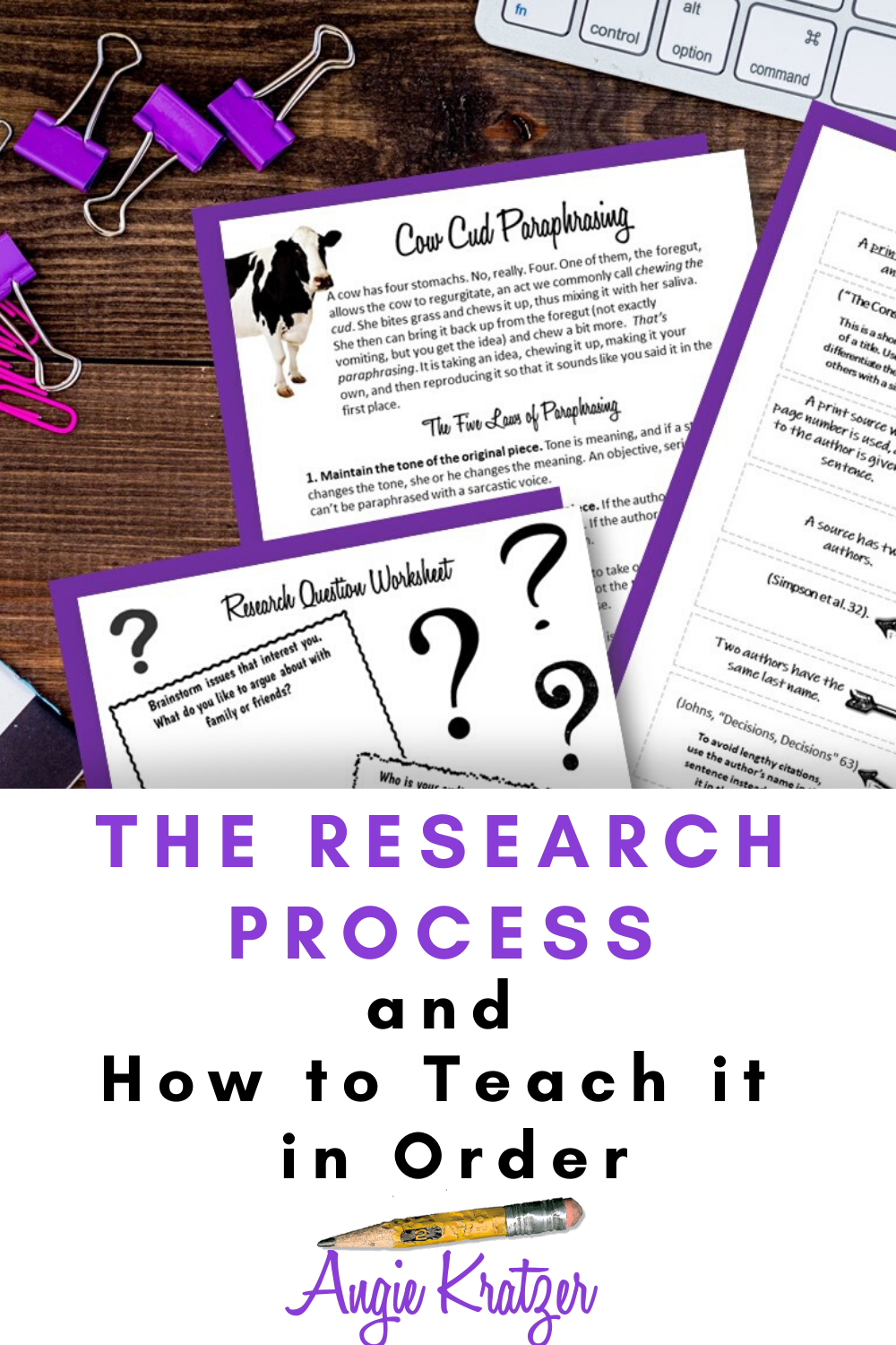 The Research Proces And How To Teach It In Order 2020 Teaching High School English Are You Supposed Paraphrase Philosophy Papers