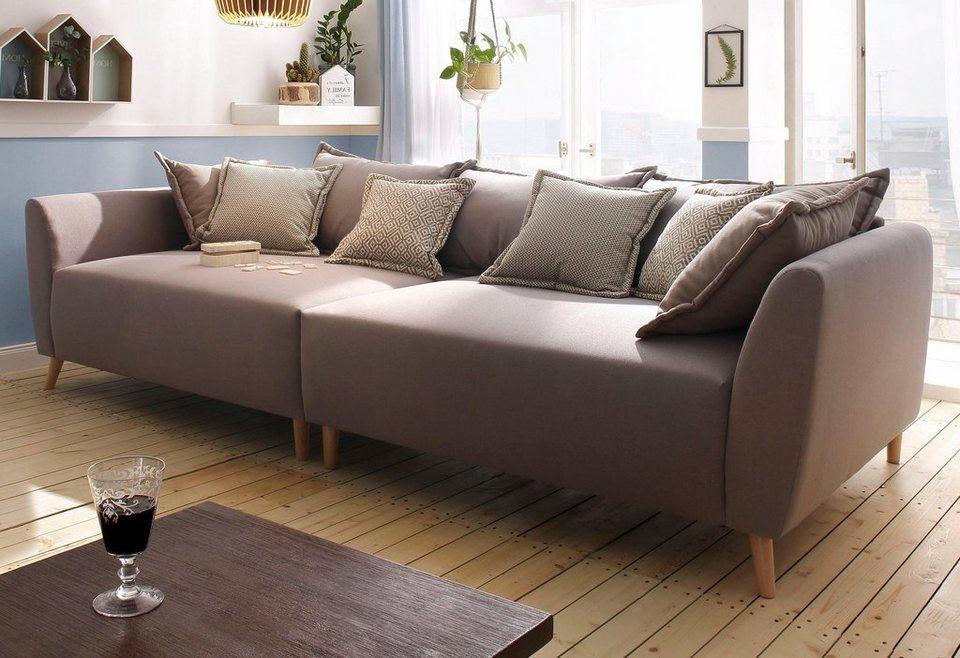 Home affaire Big-Sofa »Scotland«, mit Holzfüßen | Koltuklar