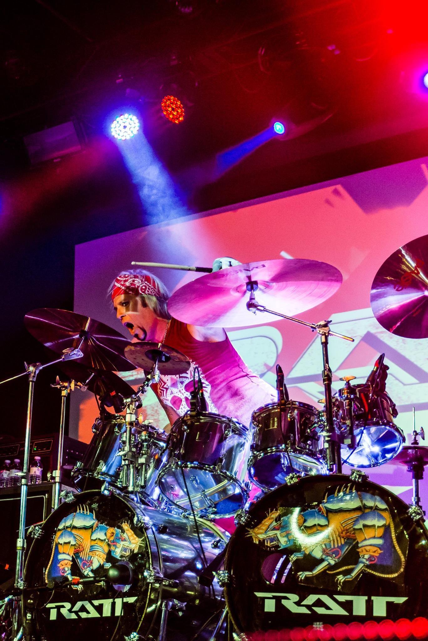 Bobby Blotzer Drummer For Ratt Ratt Rock Rocknroll Music 80s 80smusic Hairband Bobbyblotzer Drummer Rock N Roll Hair Band Drummer