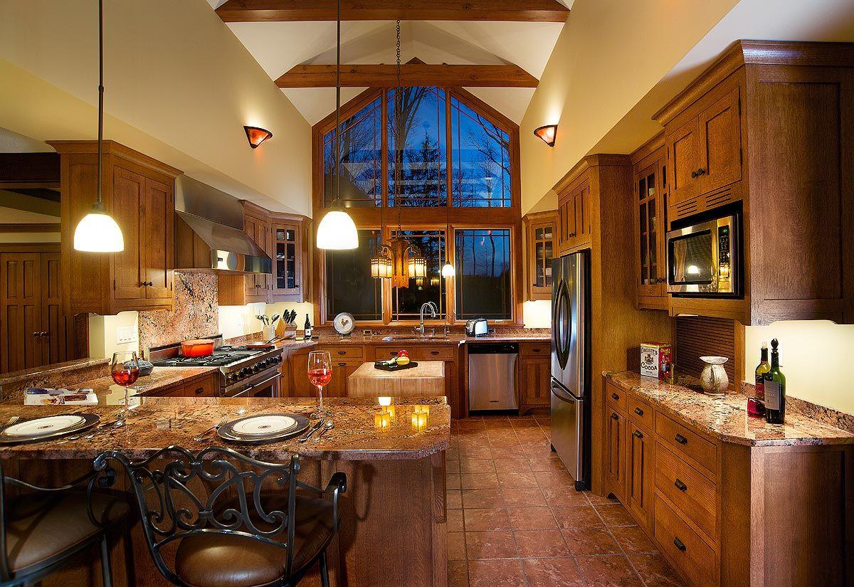 craftsman style kitchen cabinets design ideas | a1houston