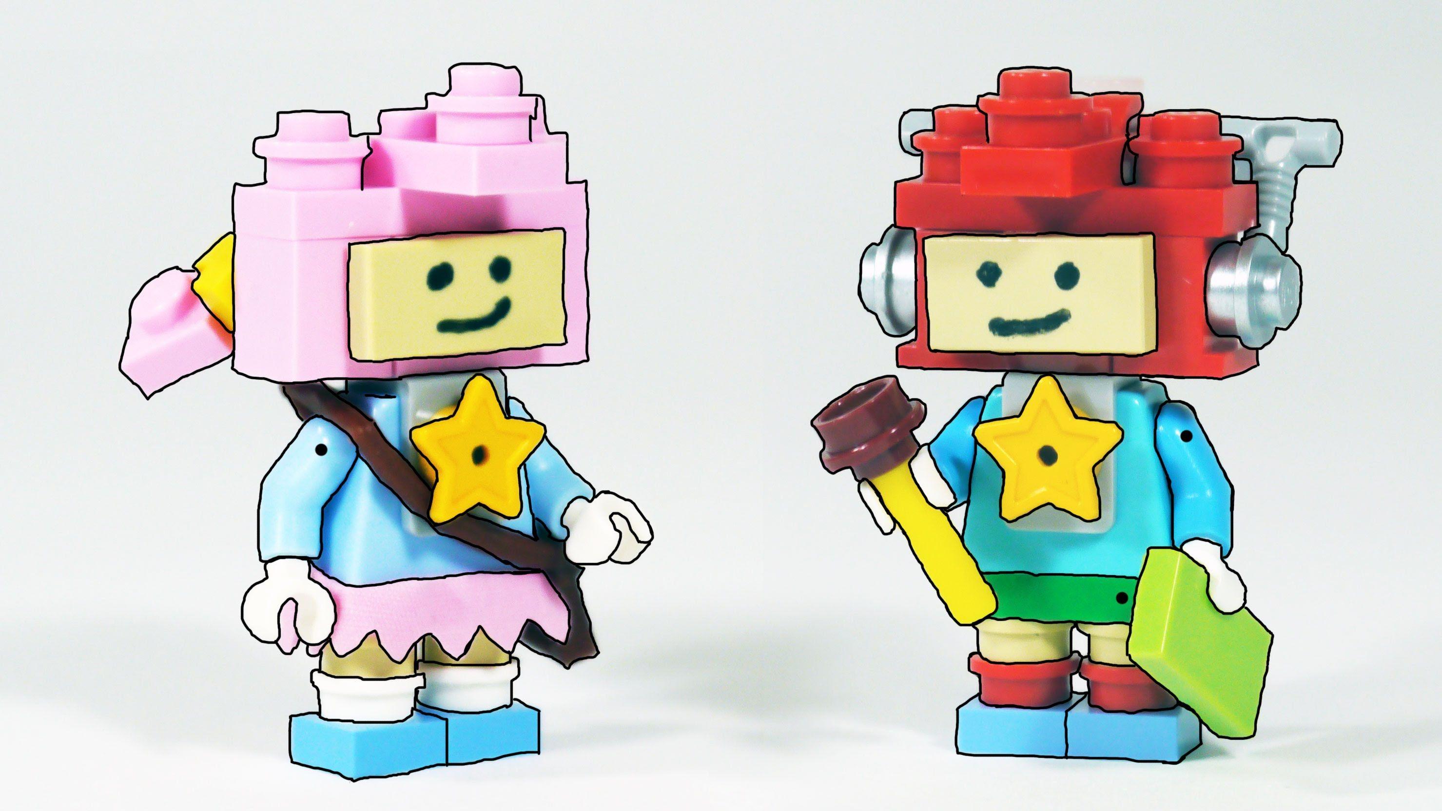 Sans Skeleton Brother Building Kit by AbbieDabbles /& Brick101 using LEGO bricks
