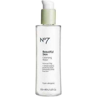 Boots No 7 Beautiful Skin Cleansing Water Beautiful Skin Water Cleanse No7