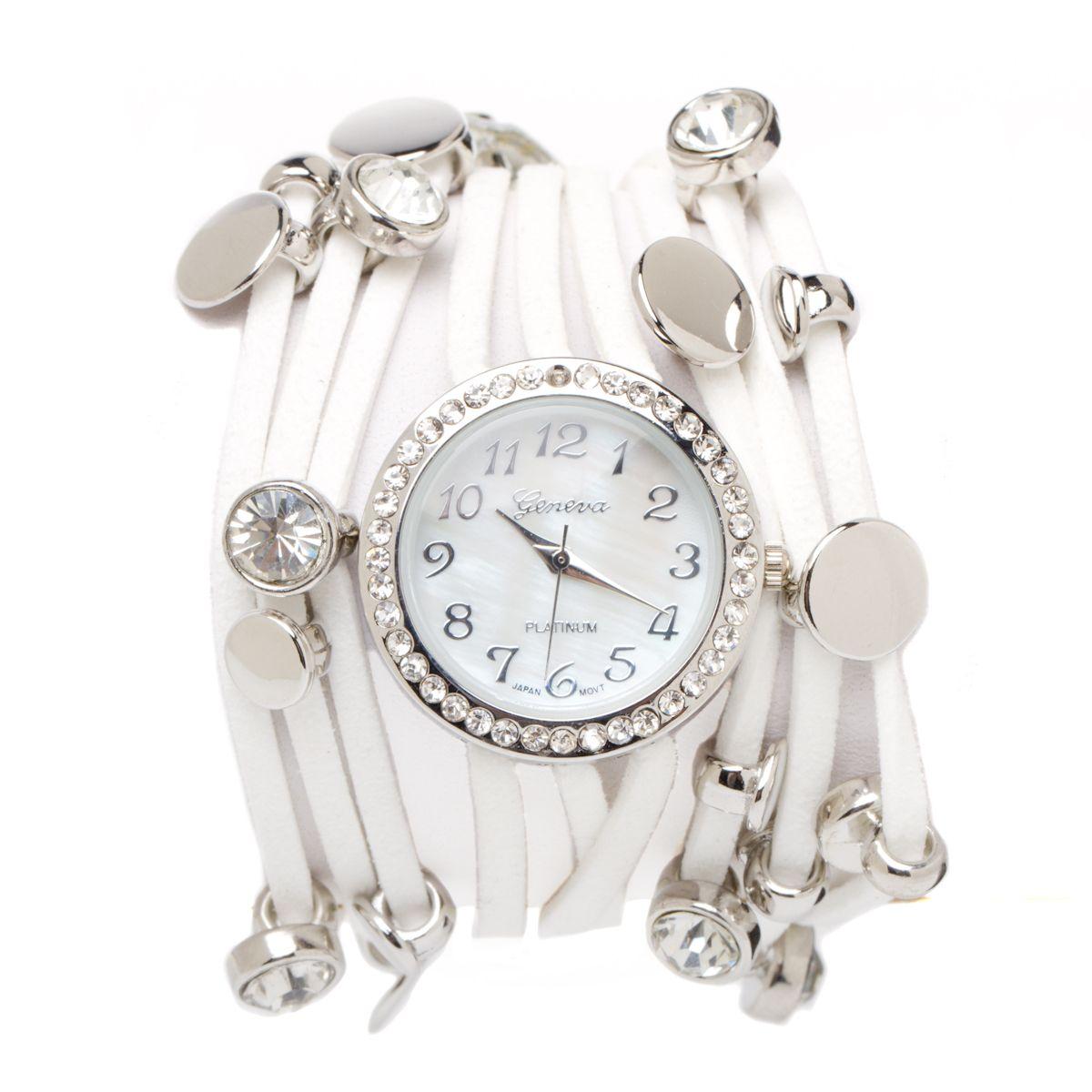 White Wrap Watch