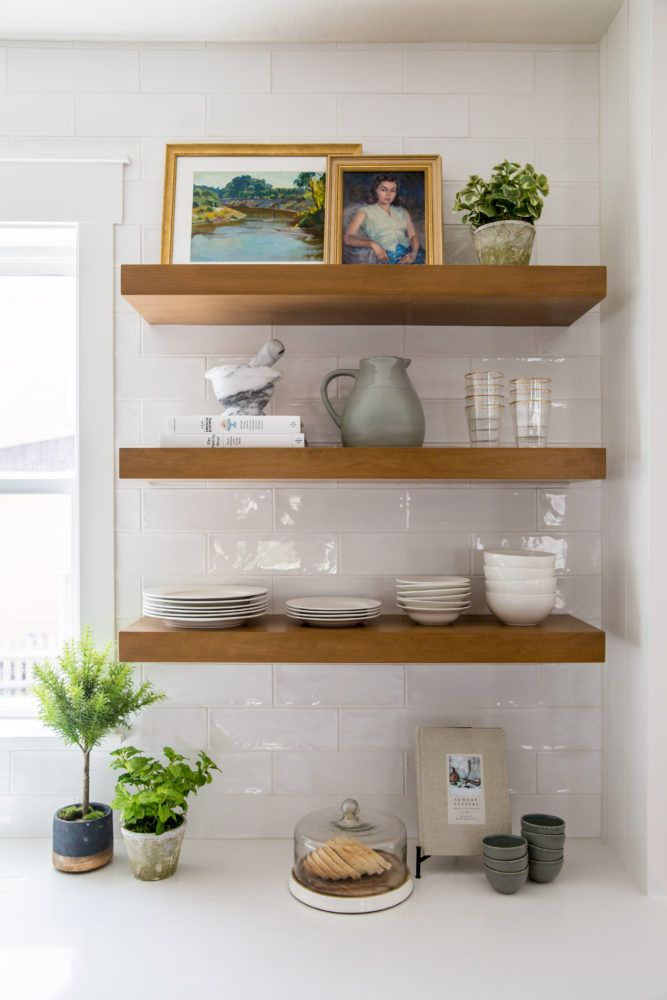 floating shelf round up floating shelves kitchen on floating shelves kitchen id=38051
