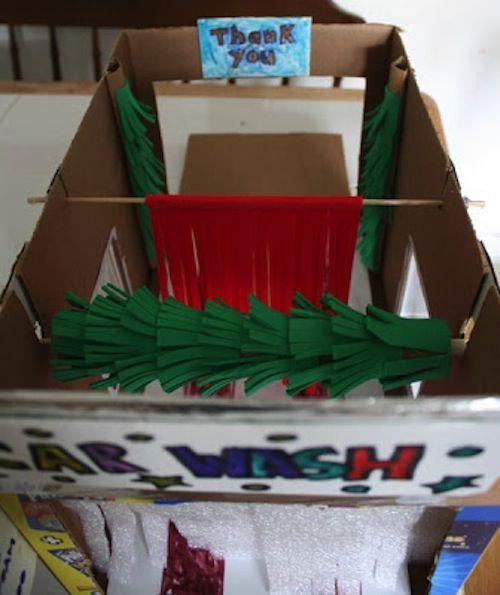 11 diy toys to make from cardboard boxes car wash fun crafts for 11 diy toys to make from cardboard boxes car wash solutioingenieria Gallery