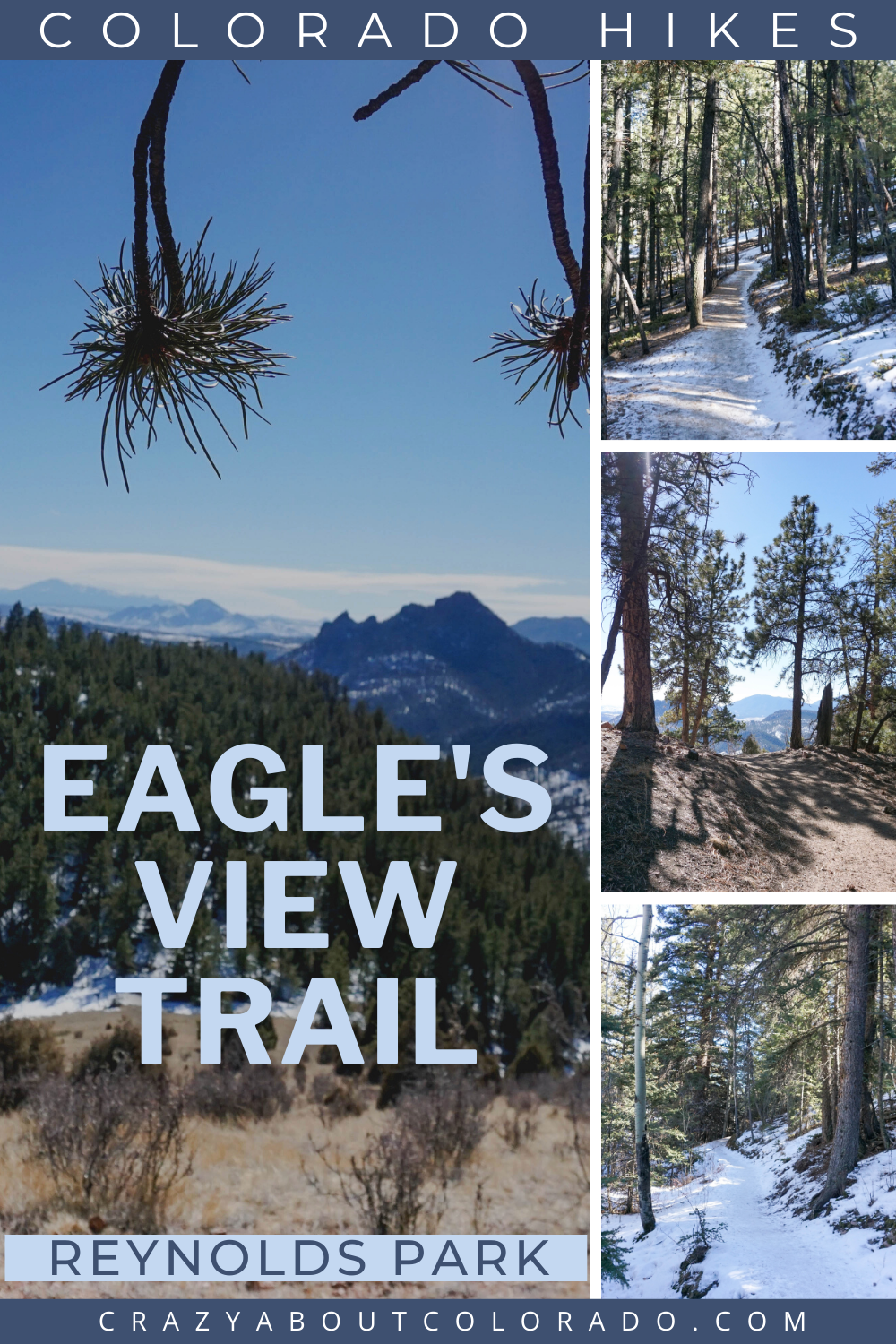 Eagle S View Trail Is Surprisingly Gorgeous Crazy About Colorado In 2021 Outdoor Adventure Activities Canada Travel Guide Canada Travel