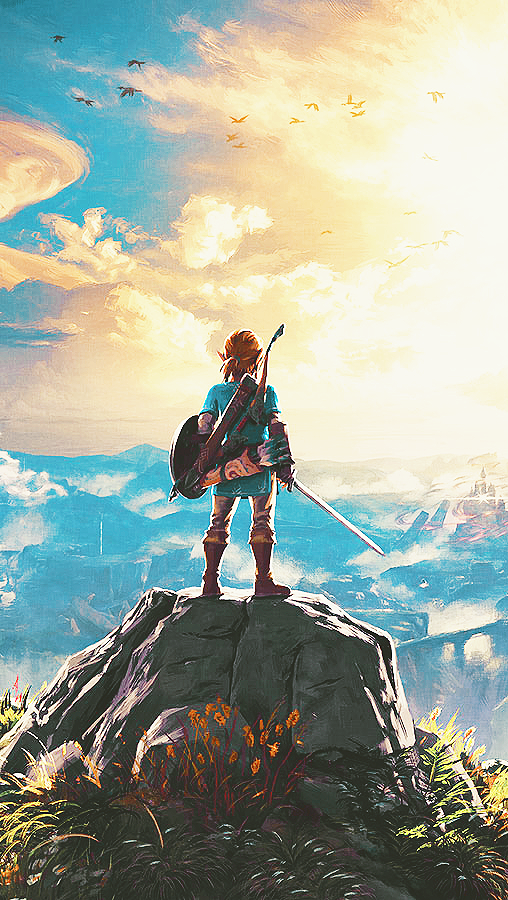 Loz Botw Wallpaper Legend Of Zelda Breath Legend Of Zelda Zelda Art