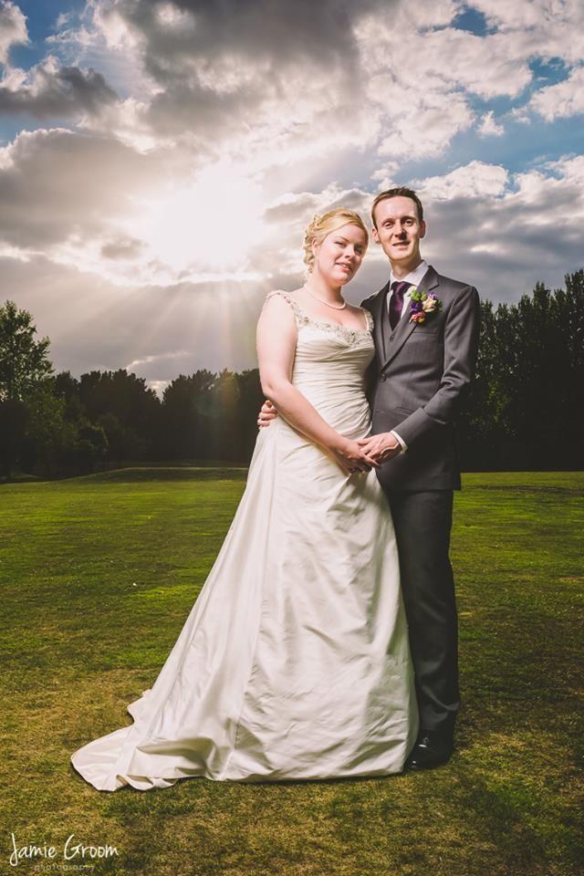 Sunset wedding photography in #norfolk #norwich www.jamiegroom.co.uk