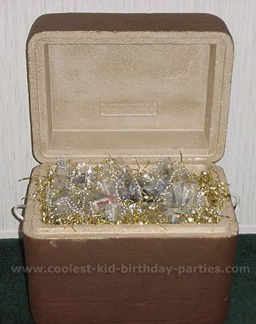How To Decorate A Treasure Box Great Idea For A Treasure Chest Or Any Kind Of Cooler You Have