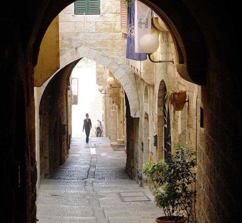 Unterwegs in der Altstadt von Jerusalem