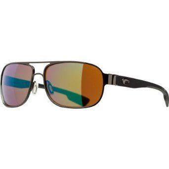 de68a5c03881d Costa Del Mar Conch Polarized Sunglasses - Costa 580 Glass Lens Gunmetal Green  Mir