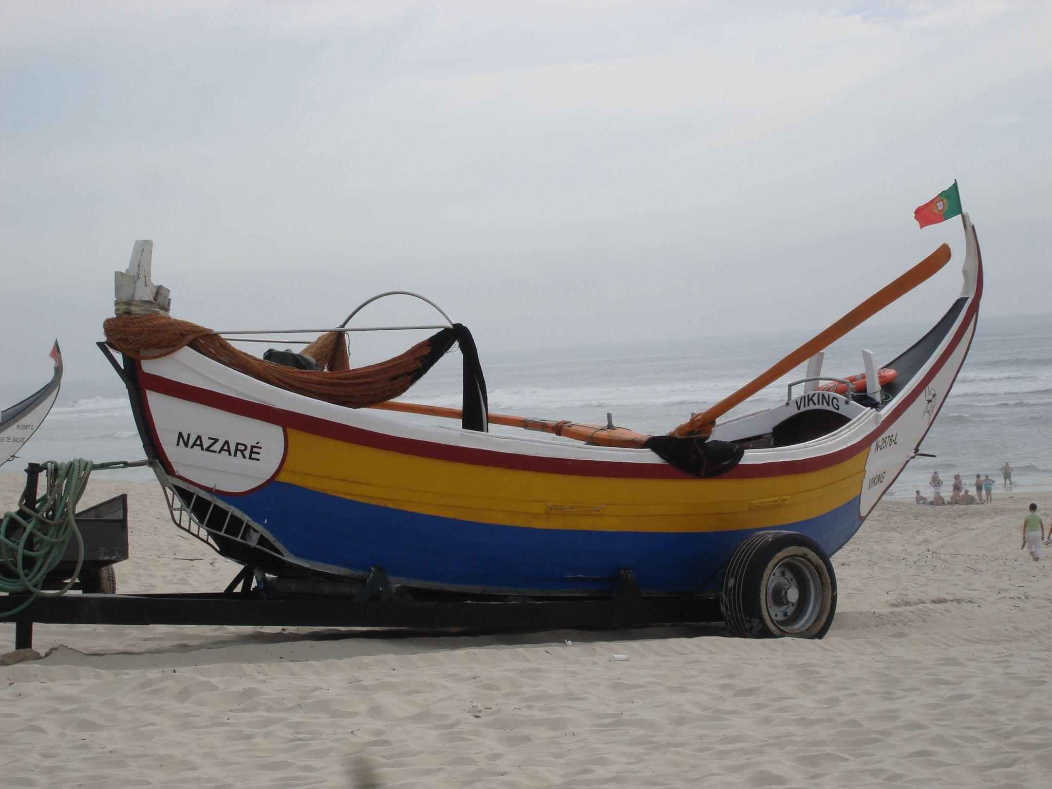 Barco de pesca, Vieira de Leiria