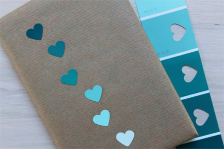 ombre   hearts = perfection (i am headed to the paint department)