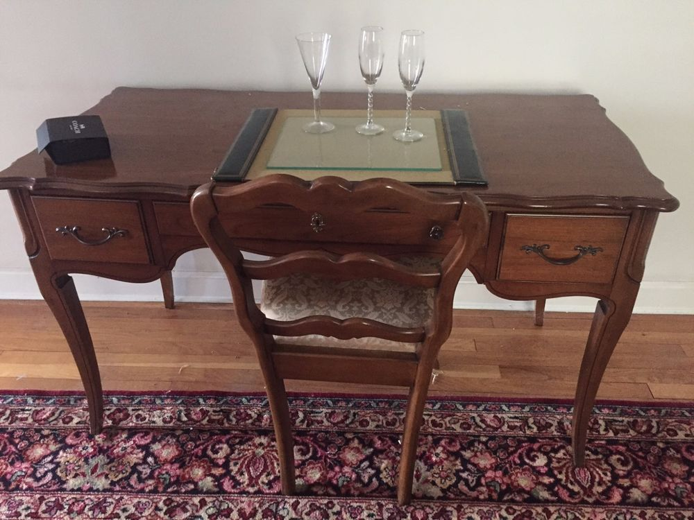 Antique National Of Mt Airy Writing Desk