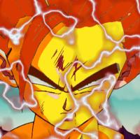False Super Saiyan 2 Gotek S Version Saiyan Super Saiyan Card Art