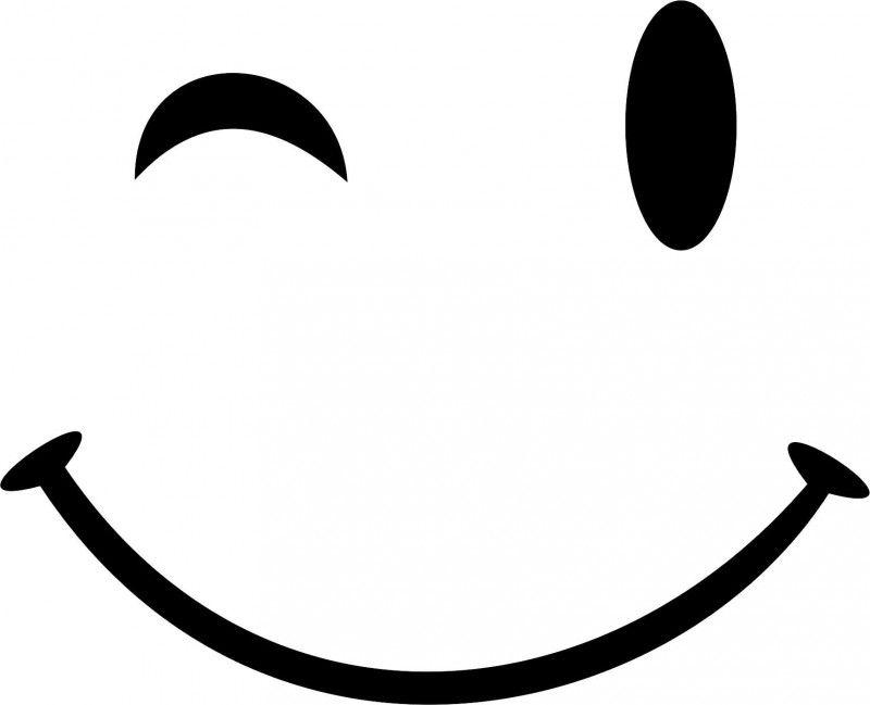 smile knipoog silhouette cut files  images  pinterest clip art smiley faces emoticons clip art smiley face wink