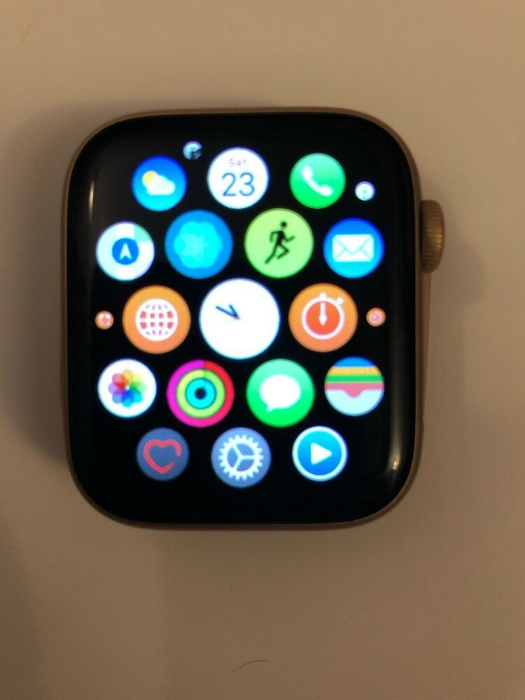 Apple Watch Series 4 44 Mm Gold Aluminum Case Pink Sand Sport Loop Gps Cell Ebay Apple Watch Apple Watch Series Pink Sand