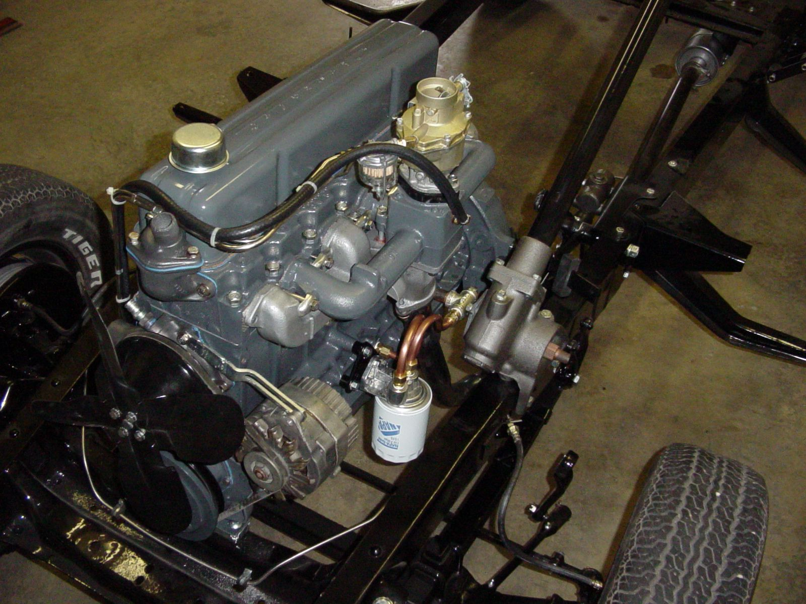 Installing A Full Flow Oil Filter On A 1954 1962 235 261 Engine Chevy Engineering Oil Filter