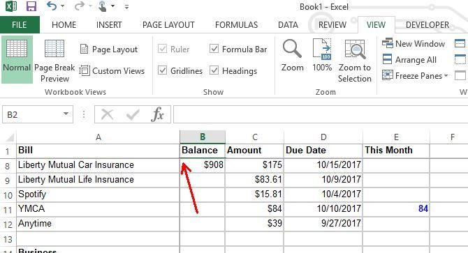 Make a Personal Budget on Excel in 4 Easy Steps Home Pinterest
