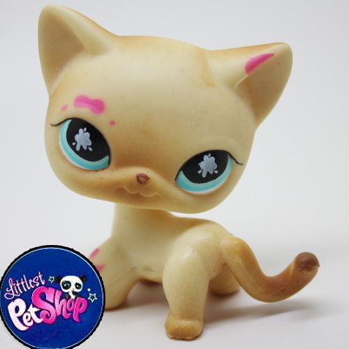 Littlest Pet Shop Lps Cat Toy Animal Figures Collection 2214