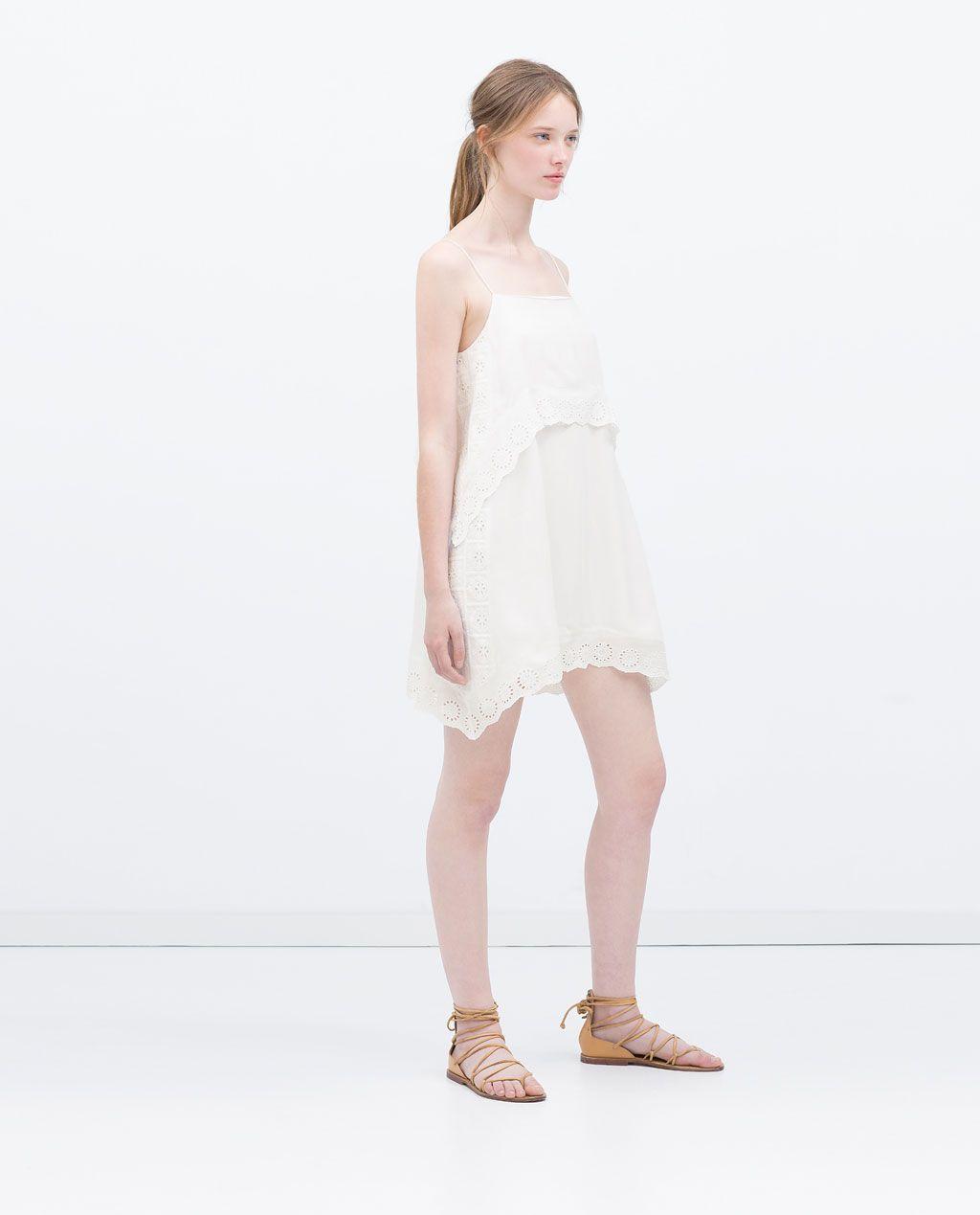 Imagen 1 de VESTIDO TIRANTES DOBLE CAPA de Zara