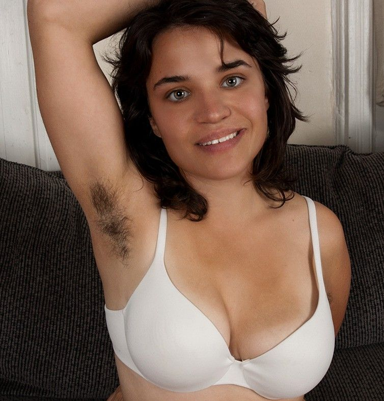 Hairy and trimmed european women