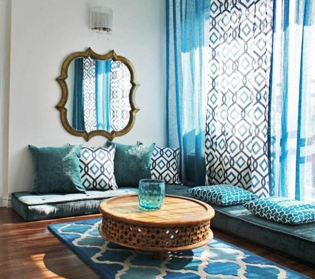 51 Superb Living Room Decoration Ideas Without Sofa Floor Seating Living Room Moroccan Living Room Living Room Decor Modern