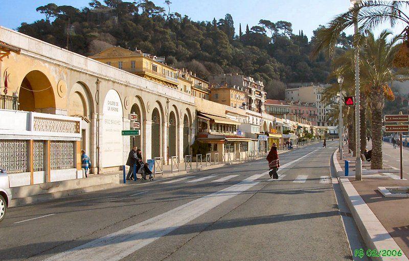 Quai des EtatsUnis Nice ville, Nice, Alpes maritimes