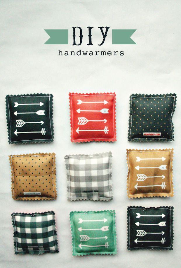 How-To: Stylish DIY Hand Warmers | Pinterest | Diy ideen, Geschenk ...