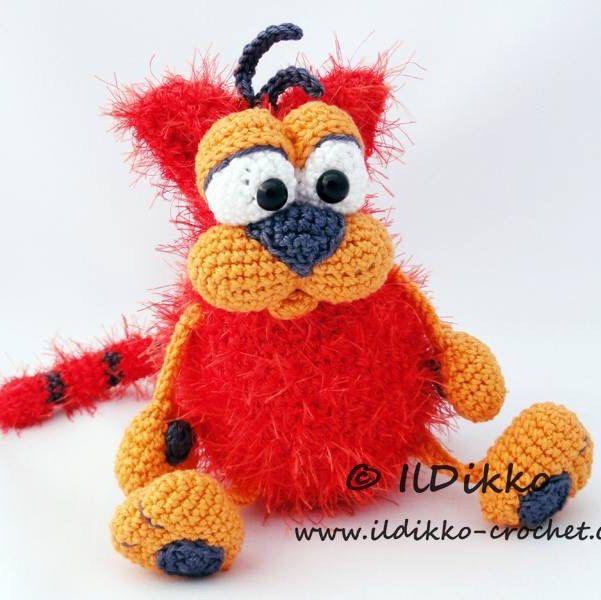 Amigurumi Crochet Pattern - Carrot the Cat - English Version ...