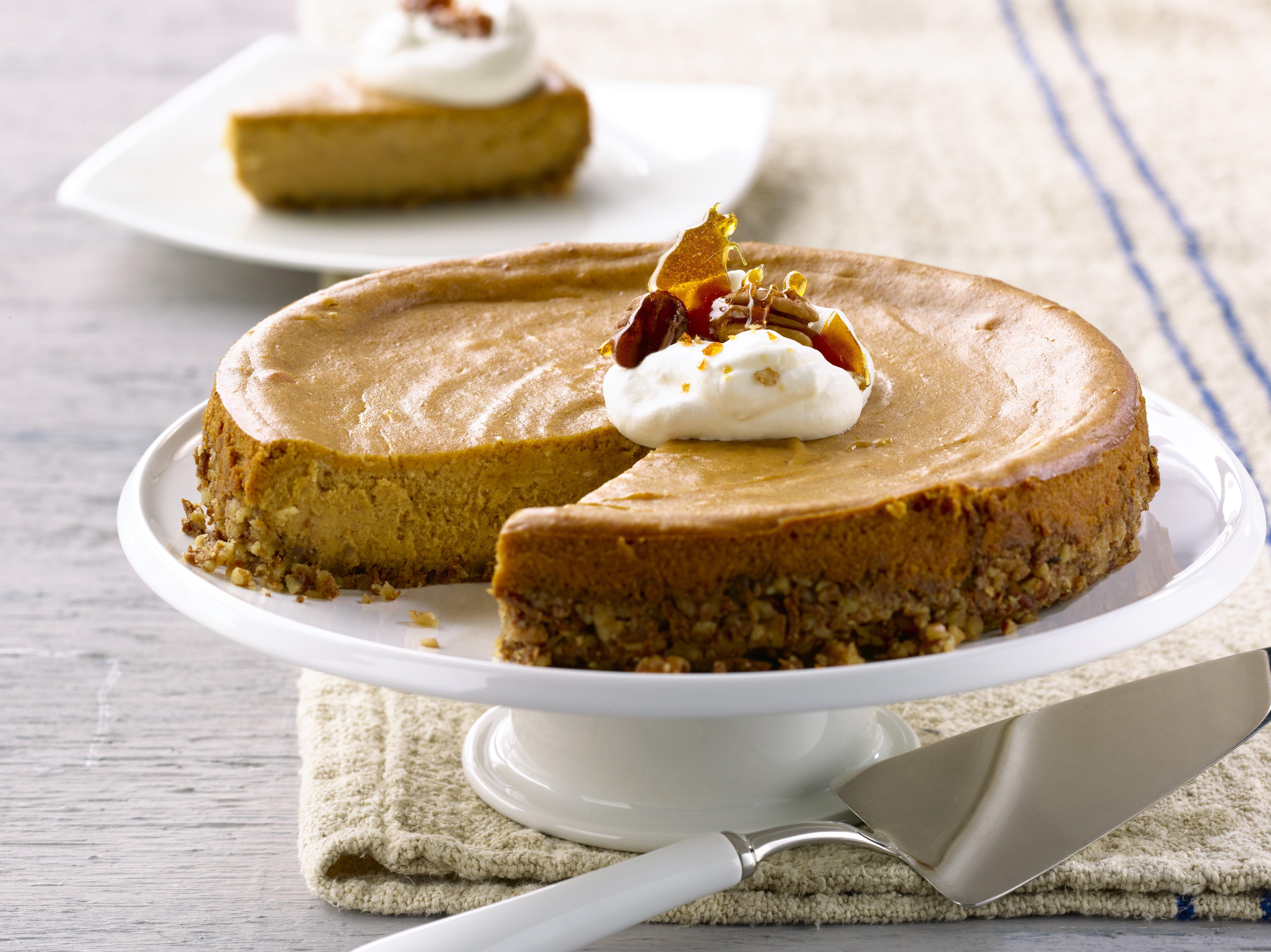 All-Bran™ Pumpkin Cheesecake Recipe- Rich, creamy, and ...