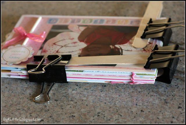 Big K Little G Diy Birthday Card Keepsake Book Tutorial Birthday Cards Birthday Cards Diy Wedding Cards Keepsake
