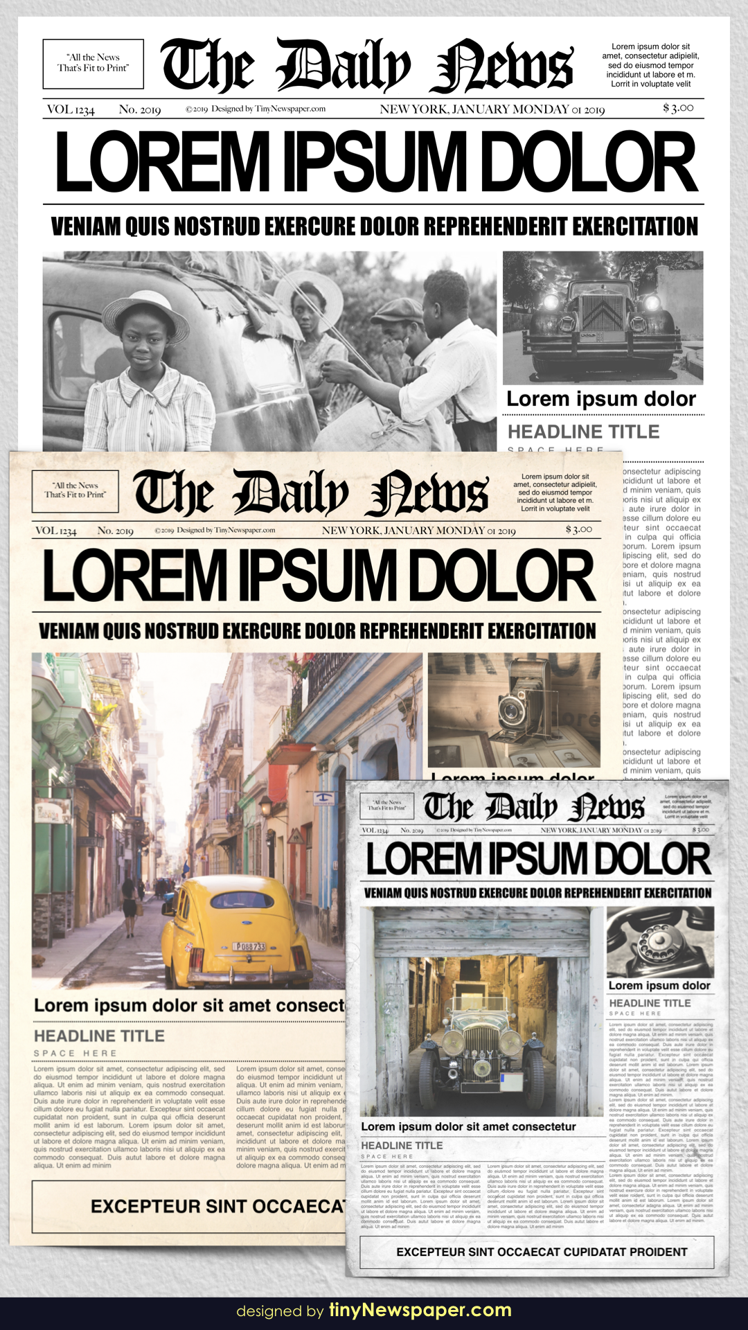 1920s Newspaper Template For Word Free Newspaper template
