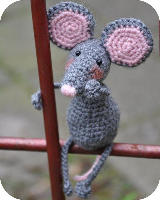 Grietjekarwietje Crochet Pattern Pita Mouse Knit Stitch