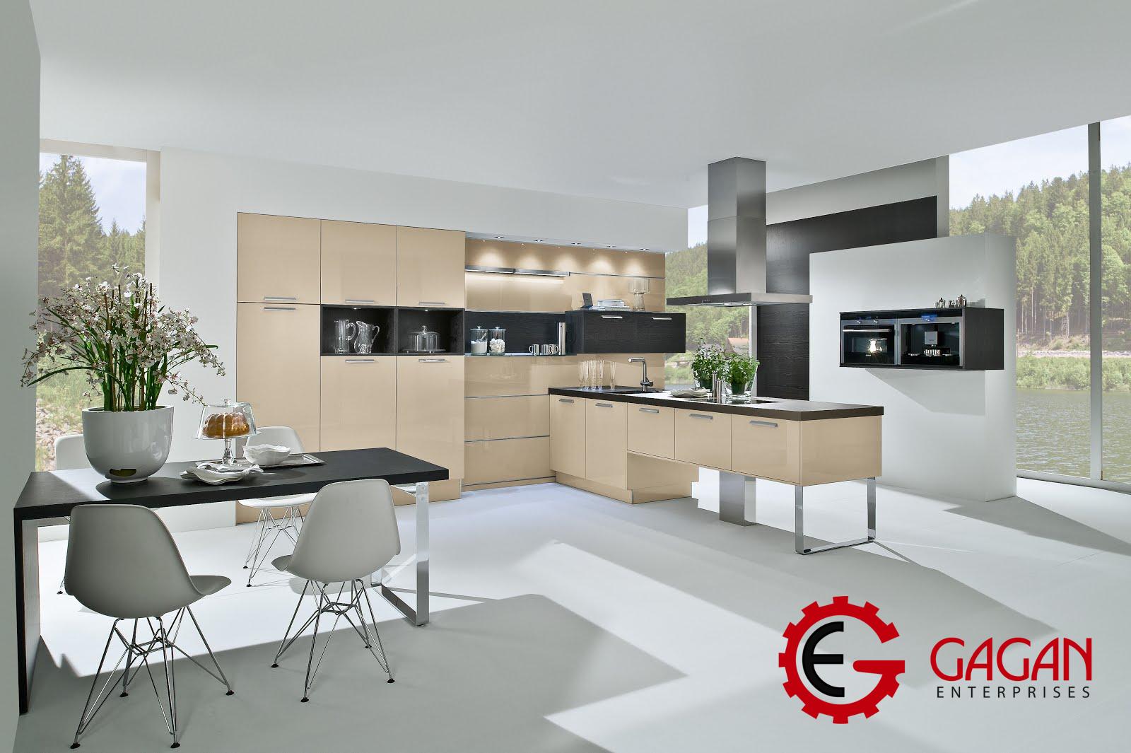 cool Grey Modular Kitchen Design Ideas | Modular Kitchen Design ...