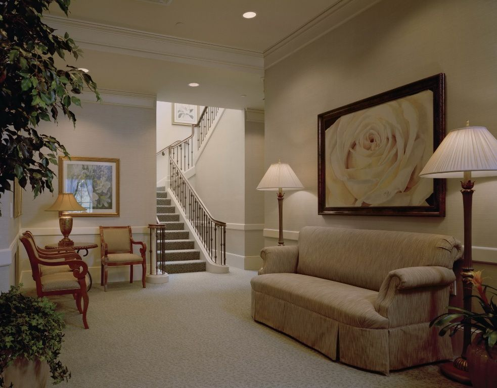Funeral Home Interior